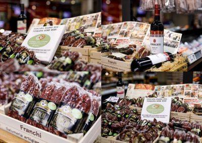 Produkte aus der Toskana im REWE Aslim